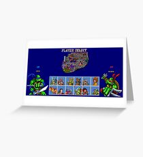 Tournament Fighter II Turbo Greeting Card