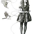 sam crow ink art by samcrow
