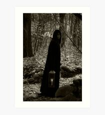Gothic Mistress of the Woods 1 Art Print