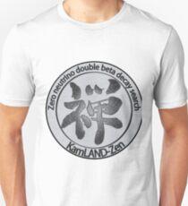 KamLAND Zen Collaboration Unisex T-Shirt