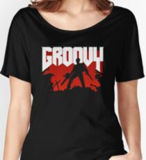 Doomy and Groovy Women's Relaxed Fit T-Shirt