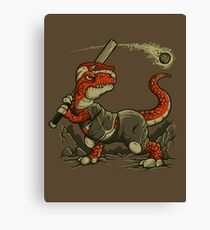 Fight The Asteroid Canvas Print