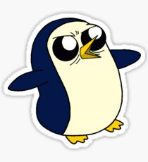 Adventure Time Gunter Sticker