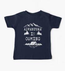 Adventure is Coming T Shirt Baby Tee