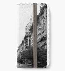 Buenos Aires street iPhone Wallet