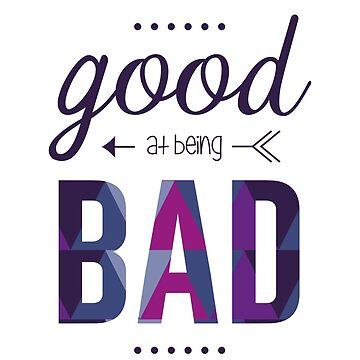 Good at being Bad by paintingpanda