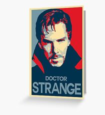 Doctor Strange Marvel Avengers Greeting Card