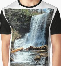 Cascades, Virginia Graphic T-Shirt
