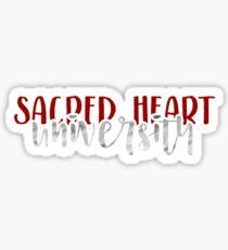 Sacred Heart University - Style 1 Sticker