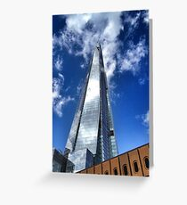 The Shard, London Greeting Card