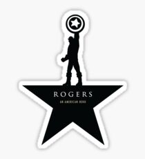 Rogers: An American Hero Sticker