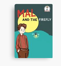 Mal and the firefly Canvas Print