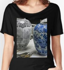 ceramic vases- Delftware factory Women's Relaxed Fit T-Shirt