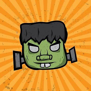Frankenstein's Monster T-Shirt by unluckydevil