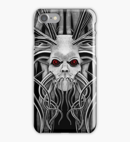 Cthulhu / Kraken Nightmare in Monochrome iPhone Case/Skin