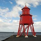 South Shields Herd Groyne Lighthouse by shakey