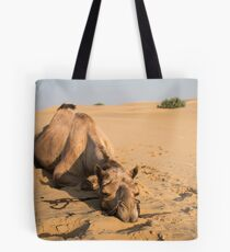 Poor Tired Camel Tote Bag