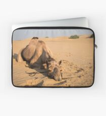 Poor Tired Camel Laptop Sleeve