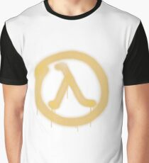 Lambda Graffiti - Half Life 2 - High Fidelity Graphic T-Shirt