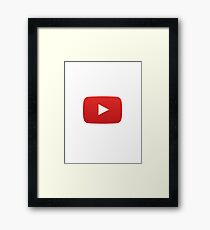 Youtube Framed Print