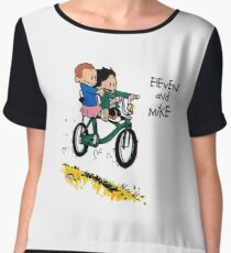 Eleven and Mike Chiffon Top