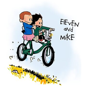 Eleven and Mike by ItokoDesign
