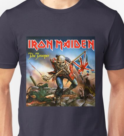 IRON MAIDEN AS TROOPERS Unisex T-Shirt