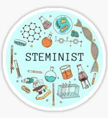 Staminist (blau) Sticker