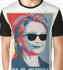 Hillary Clinton A Nasty Woman Vote In 2016 Graphic T-Shirt