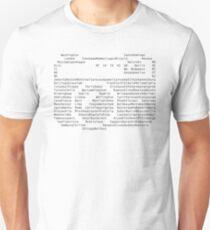 world city list to visit T-Shirt