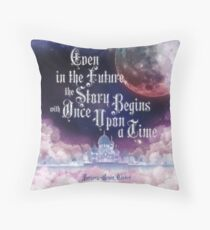 Cinder - Once Upon a Time Throw Pillow