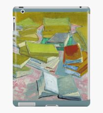 Vincent Van Gogh - Pile of French Novels, Book lovers! iPad Case/Skin