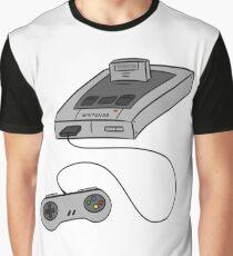 SNES - SUPER NINTENDO Graphic T-Shirt