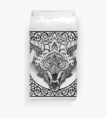 Wolf Head Duvet Cover