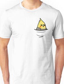 Too Many Birds! - Yellow Cockatiel Unisex T-Shirt