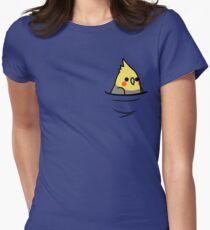 Zu viele Vögel! - Gelber Nymphensittich Tailliertes T-Shirt