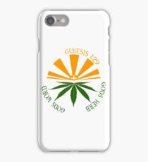 gods herb  iPhone Case/Skin