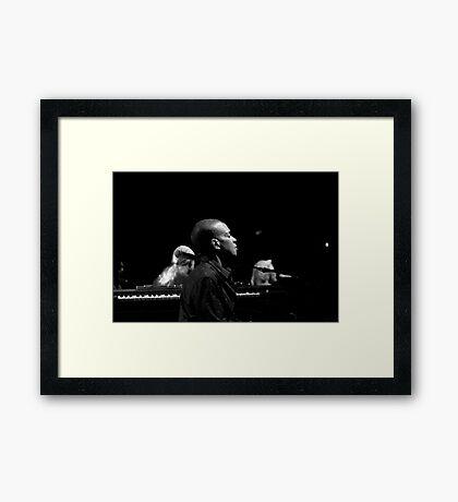 Kofi Burbridge of the Tedeschi Trucks band Framed Print