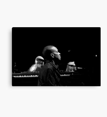 Kofi Burbridge of the Tedeschi Trucks band Canvas Print