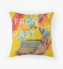 Retro Collection  -- Text From The Past Throw Pillow