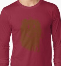 Smiley Mud Face Long Sleeve T-Shirt