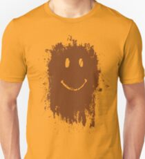 Smiley Mud Face T-Shirt