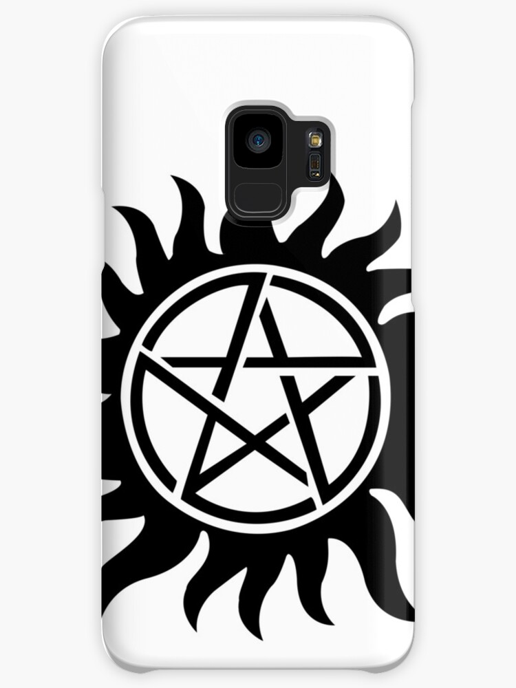 Supernatural Inspired Anti Possession Symbol Tattoo Cases Skins