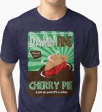 Damn Fine Cherry Pie - Peaks Tri-blend T-Shirt