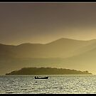 Lonesome Boatman. by Terry O Keeffe