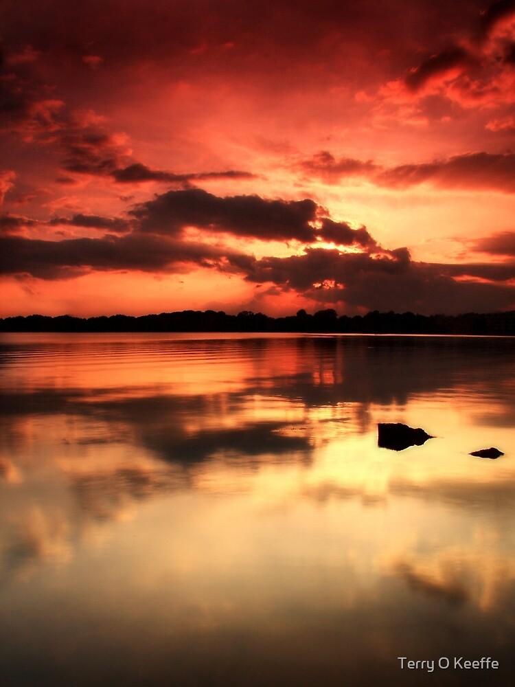 lakeside killarney co kerry ireland. by Terry O Keeffe