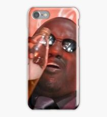 morpheus drinking a 40 iPhone Case/Skin