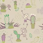 «Potted Cactus» de ceciliasolari