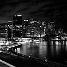 Circular Quay, Sydney At Night by Matthew Walters