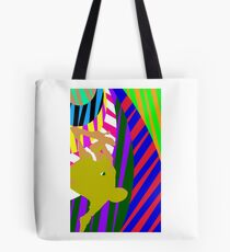 Abstract 540 Skater (Color-Dissonance) Tote Bag